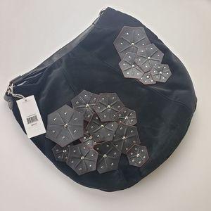 VIA SPIGA Velvet Hobo bag NWT